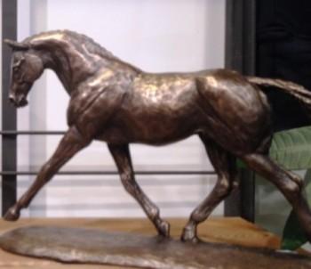 Bronzehest på hestesportsmessen i Odense