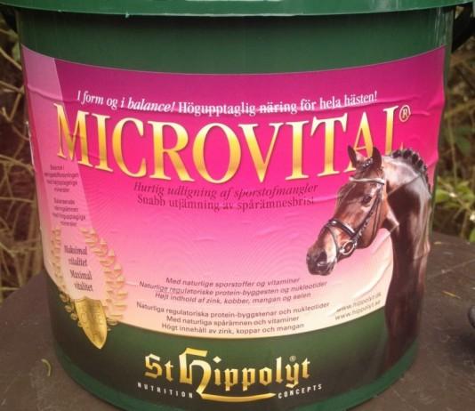 MicroVital - St. Hippolyt - mineralbooster til heste - hestezonen.dk