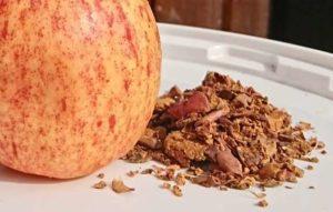 tørrede æbler til heste - æblefibre som fodermiddel
