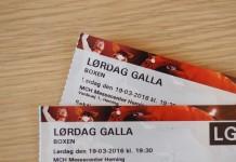 konkurrence - lørdagsgalla - dansk varmblod