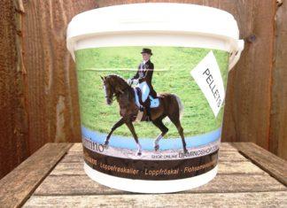 loppefrøskaller i piller - damino - produktanmeldelse - hesteblog